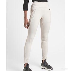 Athleta Peak Hybrid Fleece Tight Legging Pant